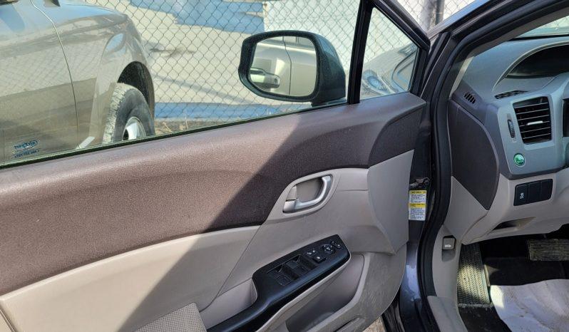 2012 HONDA CIVIC GARANTIE 1 ANS full