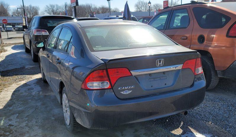 2009 HONDA CIVIC GARANTIE 1 ANS full
